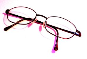 My glasses on bleach by goldfish654