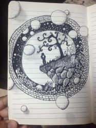 A Creative little personal universe  by fastestbabloo