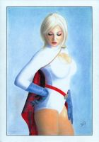 Power Girl color by TimGrayson