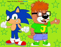 Birthday Gift for MarioSonicMoon 2016 by JustinandDennis