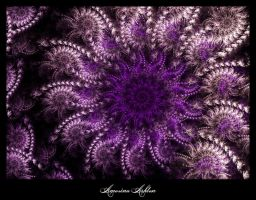Purple Starflower by AmorinaAshton