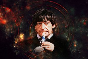 Doctor Who - Second Doctor - Patrick Troughton by Skrillexia-TF