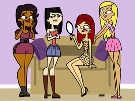Total Drama Makeovers by allie77271