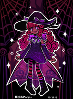 OC Pageant R5 - Halloween Sheep by NightMargin