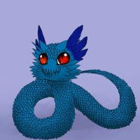 Pachu~a The Feathered Water Snake by Ellecia