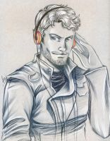 Starlord- Guardians of the galaxy by Jolyne9
