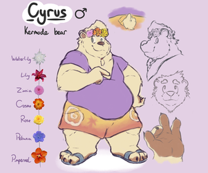 Cyrus ref again the trilogy by Brumaticalpie