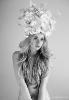 I'm a flower (bw) by TheAutumnLeaves
