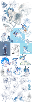 Azirillon sketchdump by azira-star-wind