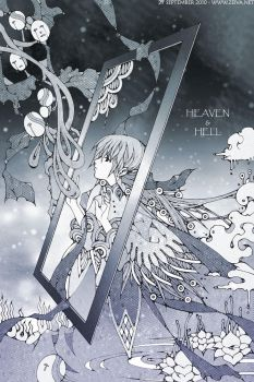 Heaven and Hell by zeiva