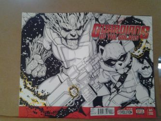 Guardians of the Galaxy Sketch cover by epitaphgraphix