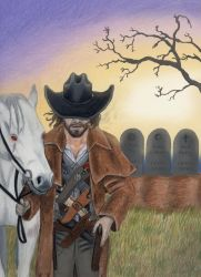 ''Death Rides a Pale Horse...'' by IllustratedMenagerie