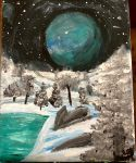 Winter Planet by natlo99