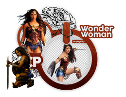 Png Pack 889 // Wonder Woman by confidentpngs