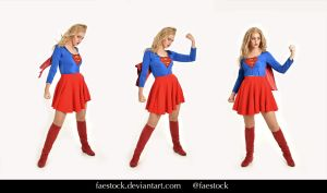 Supergirl  - Stock model reference pack 28 by faestock