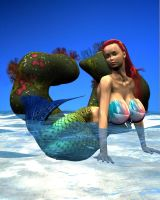 'Little' Mermaid, Take Two 1 by Chup-at-Cabra