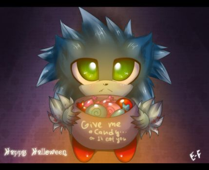 Trick or treat:Werehog by Extra-Fenix
