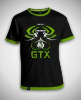 Nvidia GTX Shirt Contest by LeWelsch
