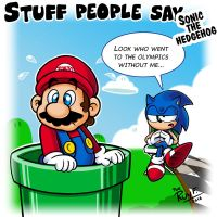 Stuff people say 240 by FlintofMother3