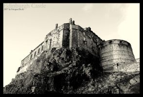 Edinburgh Castle by fotoguerilla