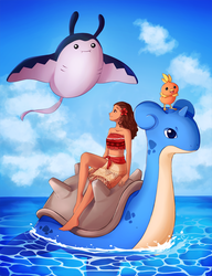 Moana The Pokemon Trainer [Video] by Ciapura