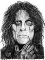 Alice Cooper - Welcome 2 My Nightmare by Shamaanita