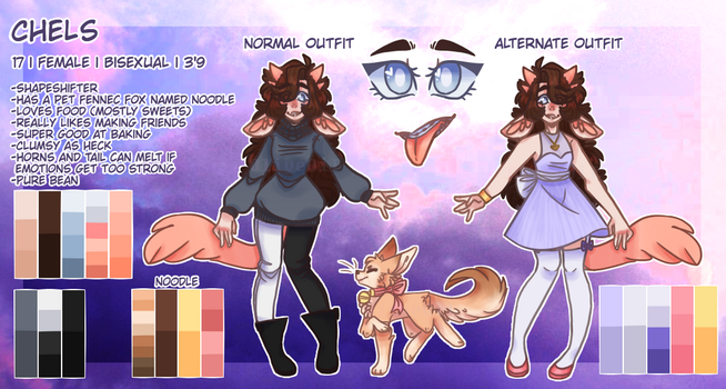 Chels Reference Sheet 2018 by OliveOiI