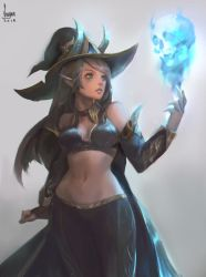 a witch by Seuyan