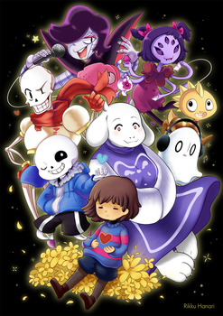 Undertale by RikkuHanari