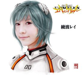 Rei Ayanami by sbel02