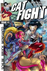 CATFIGHT issue 1 full cover by gammaknight