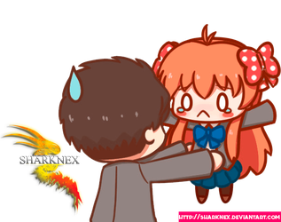Request nozaki x sakura chibis 2 render by sharknex