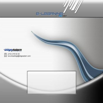 E-Learning CD Cover by blackiron
