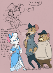 Meeting Miss Kitty by FrothingLizard