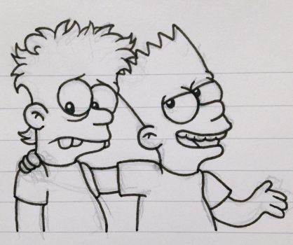 Those Simpson Boys by XaiIrken