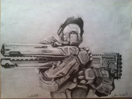 Master chief by Coolb3rt