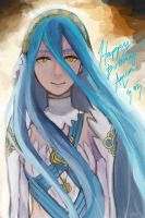 Happy Birthday Aqua/Azura by pOcKyLoVeR09