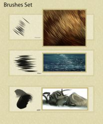 Brushes Set 01 by Elsouille
