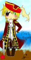Pirate Iggy Chibi by samiechan123