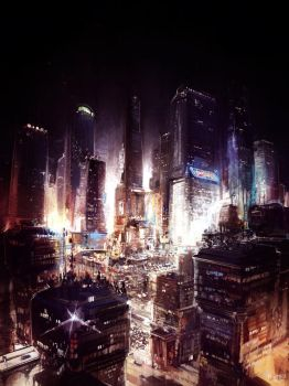Cityscape 003 by Pierrick