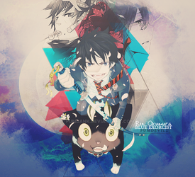 Blue Exorcist by pumbank