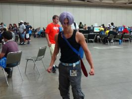 Dragon Ball Z's Future Trunks Cosplay by GamerZone18