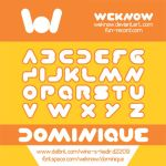 dominique font by weknow by weknow
