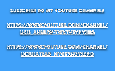 Subscribe To My Youtube Channels by LyricArchive