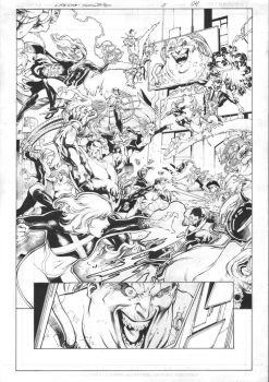 X-Men Gold #15 Page 04 Inks by JPMayer