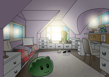New room, old nightmares by sheenathehedgehog