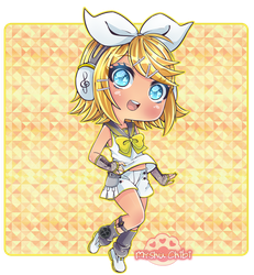 [+Video] Rin Kagamine chibi by Myshumeaw