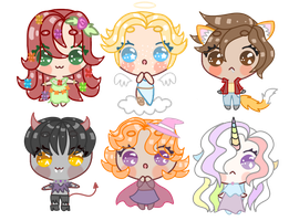 Fantasy Mystery Adopts (CLOSED) by Fidelibus