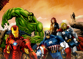 The Avengers by GeeHALE