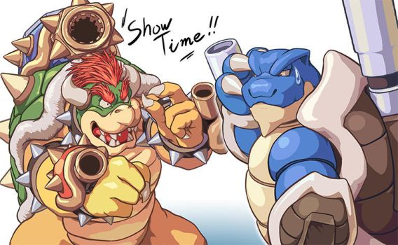 Bowser Mega Evolution handmaded by MasaBowser